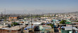 canvas print picture - Panorama of Khayalitsha Township - the poorest slums - against the background of mauntains in Africa near Cape Town