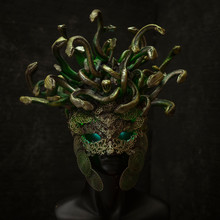 Head Medusa, Creature Of Greek...