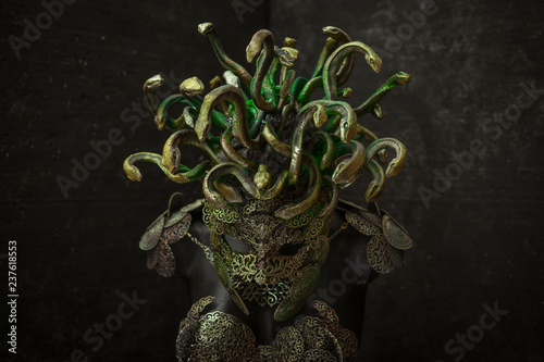 Fotomural Medusa, creature of Greek mythology