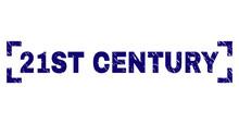 21ST CENTURY Text Seal Print W...