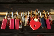 Love Padlocks, List, Sylt, Ger...