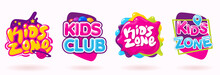 Kids Zone Colorful Banner Set....