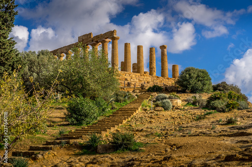 Canvastavla Valley of Temples in Agrigento, Sicily