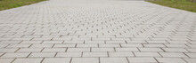 Interlocking Stone Block Walkw...