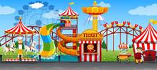 A Fun Circus Template