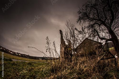 Fotografie, Obraz  Hütte
