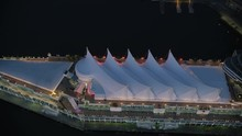 Aerial View Canada Place Vanco...