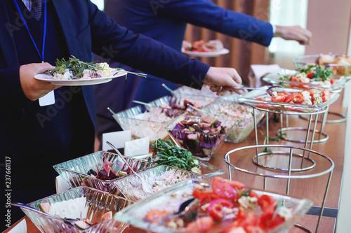 Fotografia The conference banquet