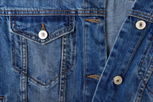 Jeans Jacket. Abstract Background.