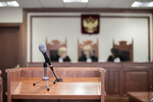 Courtroom Of The Russian Federation