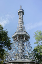 Lookout Tower Petrin In Prague