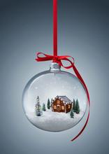 Cozy Christmas Gingerbread Hou...