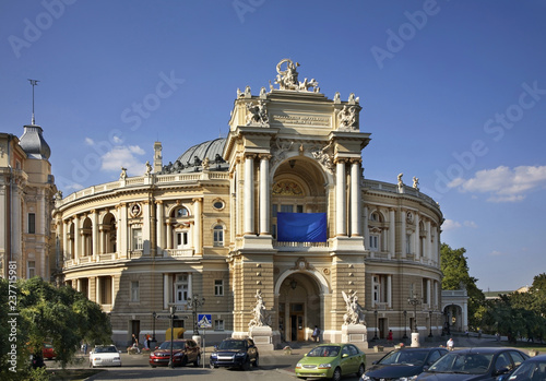 Foto op Plexiglas Theater Odessa Opera and Ballet Theater. Ukraine
