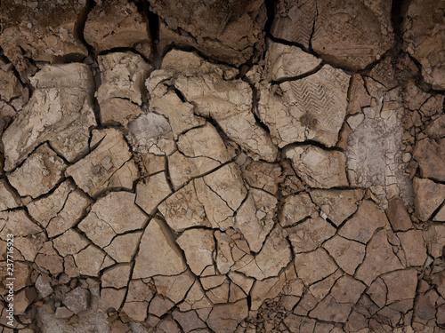 Fotografía  Earth ground crack