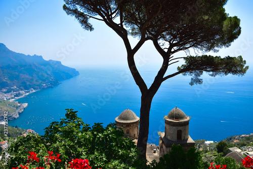 Widok z Villa Rufolo