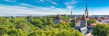 Tallinn In Estonia, Panorama O...