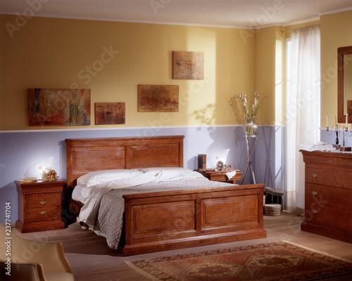 Fotografie, Obraz Ambiente camera da letto