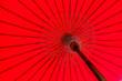 Leinwanddruck Bild - Colorful umbrella texture and background