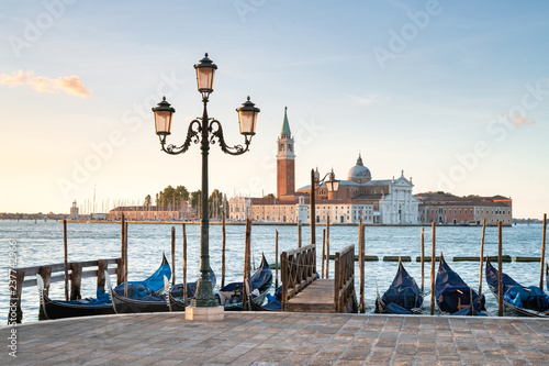 Spoed Foto op Canvas Centraal Europa San Giorgio Maggiore in Venedig, Italien