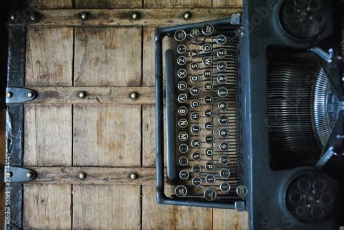 Maszyna do pisania retro