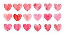 Valentines Day, Aquarelle Illu...
