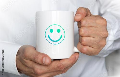 Fototapeta  tazza, risveglio, lavoro, pausa, bere, relax