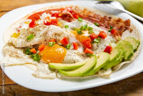 Huevos rancheros - eggs in the ranch