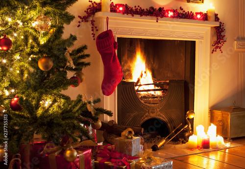 Fotografie, Obraz  christmas background