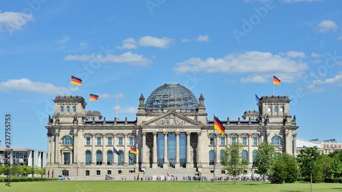 Berlin - Reichstag - fototapety na wymiar