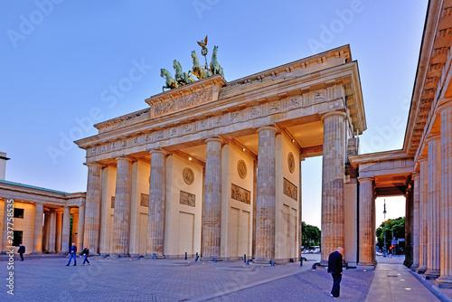 Poster Berlin Brandenburg Gate, Berlin, Germany