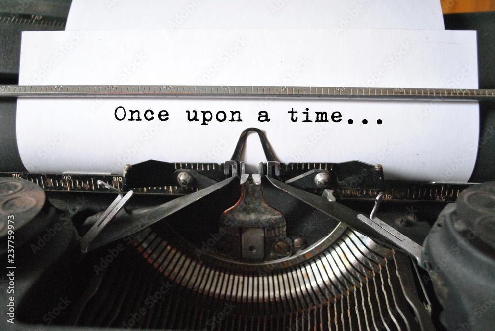 Fototapeta Once upon a time...