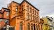 Leinwanddruck Bild - Palazzo Capponi alle Rovinate  in Florence, Italy