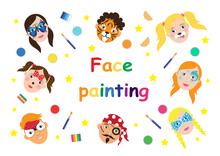 Face Painting For Kids Collect...