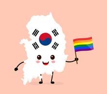 Cute Funny Smiling Happy South Korea