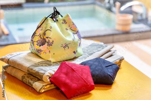 Obraz na plátne 温泉旅館の浴衣