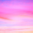 Leinwandbild Motiv Sky in the pink and blue colors. effect of light pastel colored of sunset clouds cloud on the sunset sky background with a pastel color