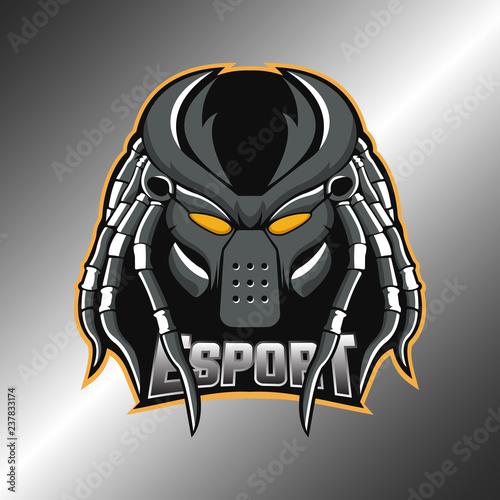 Predator Logo Esport Illustration Wallpaper Mural
