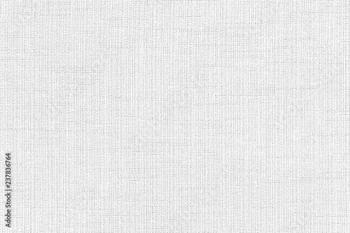 Obraz na plátně White linen fabric texture or background.