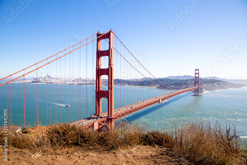 Fotografie, Obraz  golden gate bridge san francisco california usa bay area