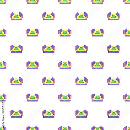 Fotografie, Obraz  Rectangular football stadium pattern