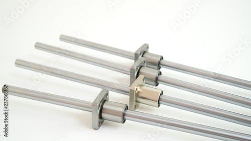 Metal linear bearings Fototapet
