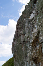 Sheer Steep Rocky Cliff Face I...