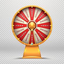 Fortune Wheel. Turning Roulett...