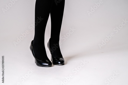 2636491db59 women s feet in black stockings or tights