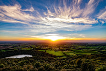 Sunset From Sutton Bank