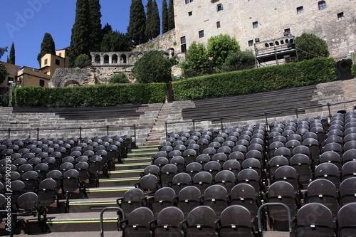 In de dag Theater Italien, Verona, Teatro Romano