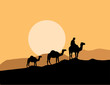 Vector Illustration Camel
