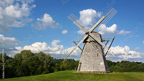 Old windmill in Lithuania