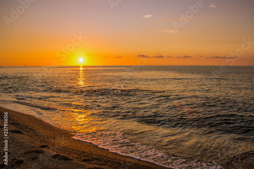 sand sea shore sunset wallpaper pattern shot beautiful view in south part of Europe
