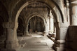 canvas print picture - Armenisches Kloster